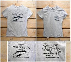 WE2R LYON - Tshirt