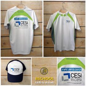 CESI - Casquette & maillot