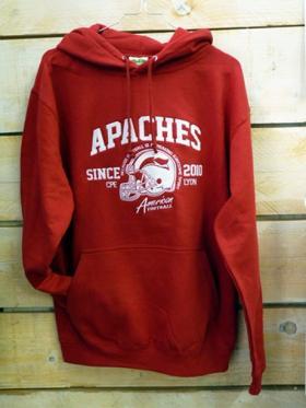 Apaches CPE Lyon -Sweat brodé