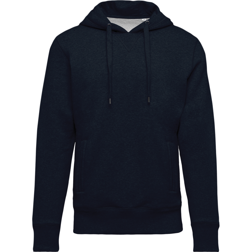 Sweat-shirt ptit bio capuche homme French Navy Heather Bleu