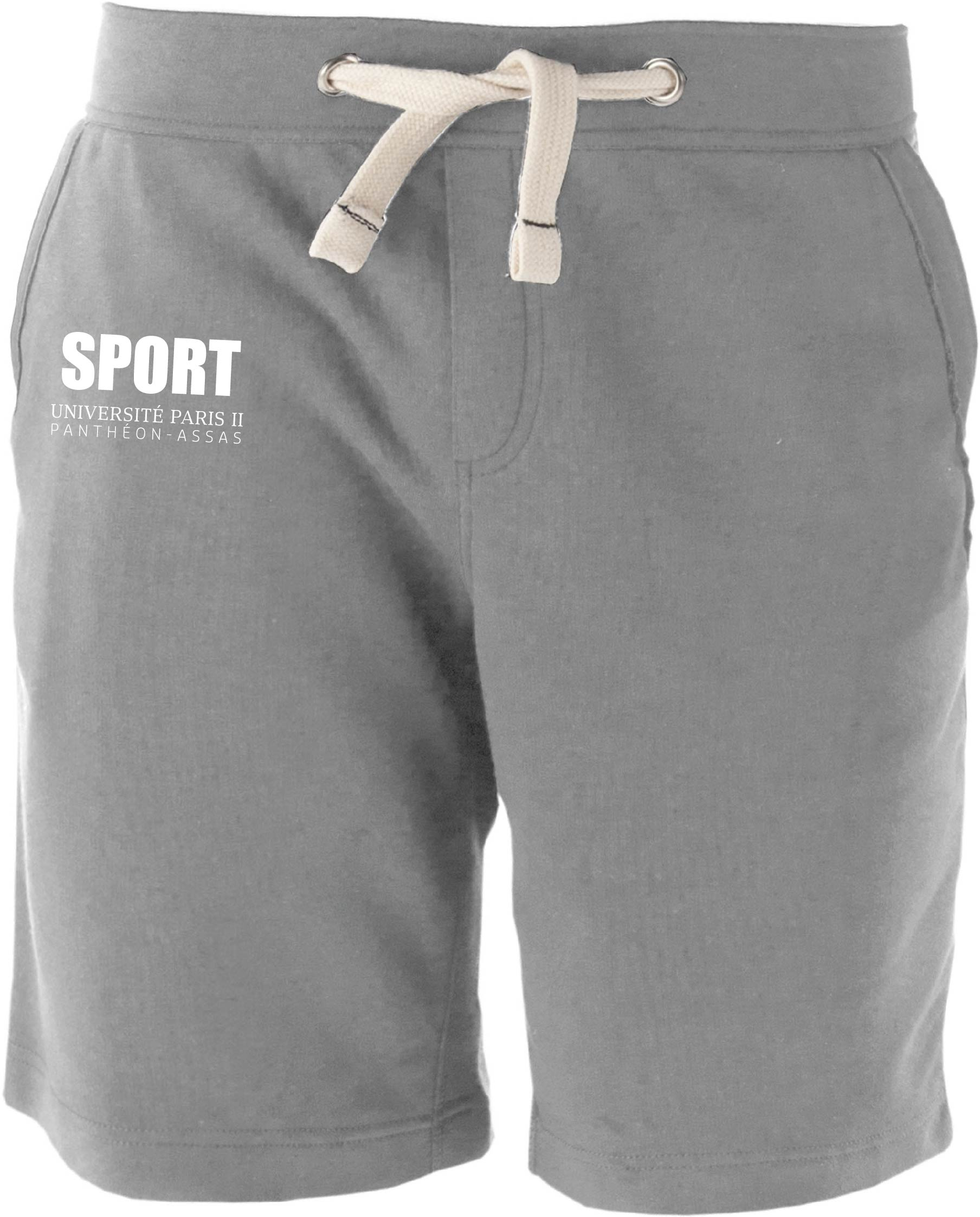 Short AS Paris II - HANDBALL Gris Oxford Grey