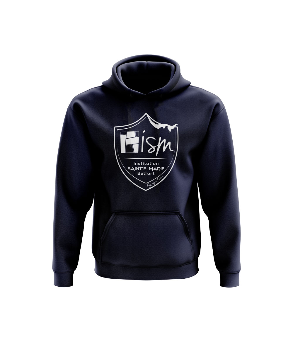 Sweat capuche Kid ISM Marine