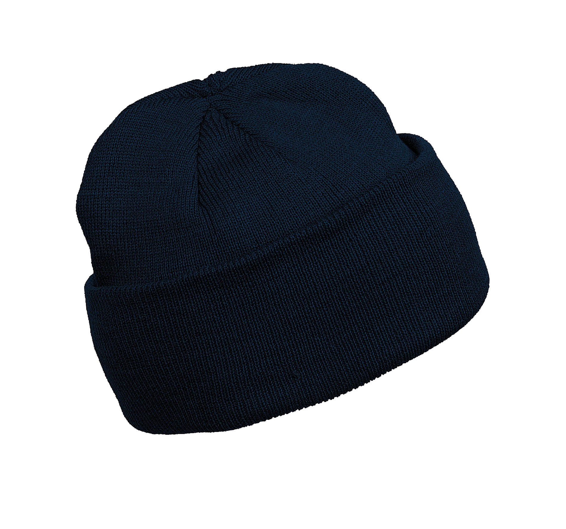 BONNET A REVERS Navy Bleu