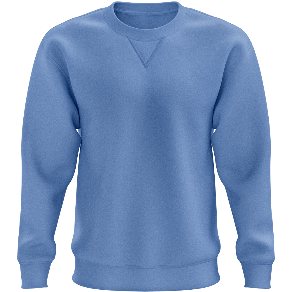 Sweat DELUXE ROUND Royal chiné Bleu